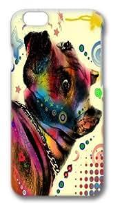 iphone 6 plus Case,dog 04 TPU Custom iphone 6 plus 5.5 inch Case Cover Black