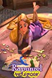 Rapunzel: Disney Tangled Themed Notebook Journal 6' x 9' I A Delight for all Kids