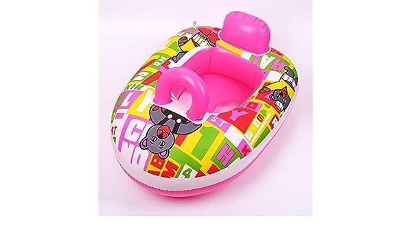QYP mono para piscina Tapa y asiento de bebé, diseño de barca ...