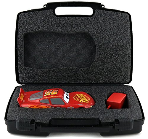 Mater Costume For Adults - Hard Storage Sphero Ultimate Lightning McQueen Case - CUSTOM Made Foam Securely Fits Vehicle and Accessories - Black