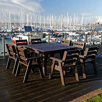 extérieur Crew de table et sièges de capitaine Ensemble de jardin ...