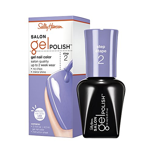 Sally Hansen Salon Gel Polish, Purplexed, 0.25 (0.25 Ounce Gel)