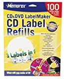 : Memorex CD/DVD White Labels (100-Pack) (Discontinued by Manufacturer)