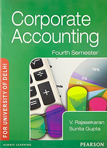 Corporate Accounting 4th Sem: For University of Delhi