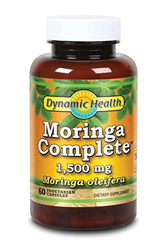 Dynamic Health Moringa Complete, 1500 Mg, 60 Count