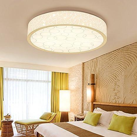 LIYJG Ronda minimalista moderno LED Lámpara de techo ...