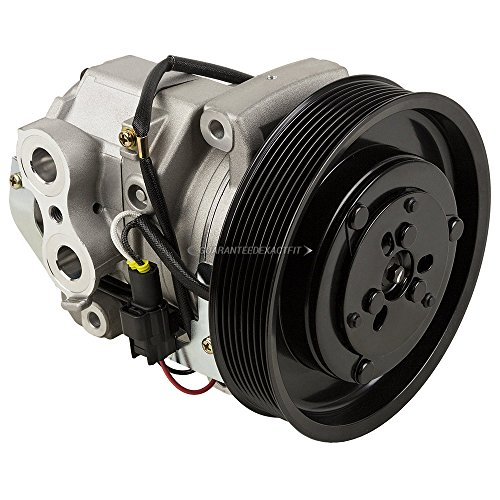 AC Compressor & 8-Groove 163.5mm A/C Clutch For Freightliner Replaces 22-65771-000 Denso 10S15C 12v - BuyAutoParts 60-03494NA New