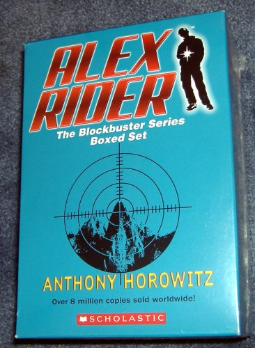 Alex Rider Boxed Set: Stormbreaker, Point Blank, Skeleton Key, Eagle Strike, and Scorpia - Book  of the Alex Rider