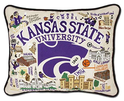 (Catstudio- Kansas State University Embroidered Throw Pillow - 16