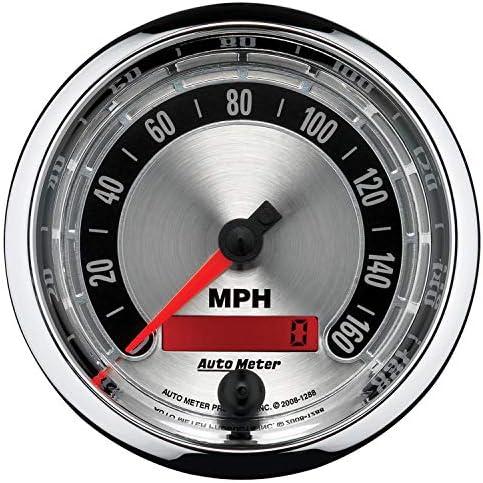 6 Pc, Camaro//Firebird 67-68, Tach//Mph//Fuel//Oil Pressure//Water Temp//Volt, American Muscle Auto Meter 7020 Gauge Kit