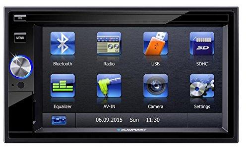 Blaupunkt San Marino 330 62 Inch Touchscreen Bluetooth Car Multimedia Player 2 Din