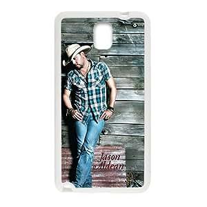 DAZHAHUI Jason Aldean Fashion Comstom Plastic case cover For Samsung Galaxy Note3