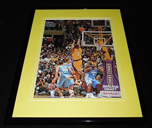 Kobe Bryant 2003 Buzzer Beater vs Denver Framed 11x14 Photo Display Lakers