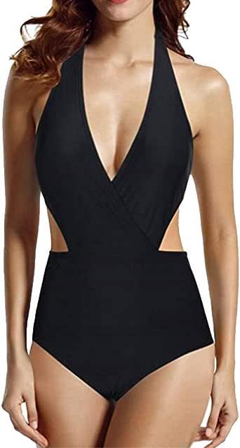 Wllsagl Xouwvpm Womens Plus Size Swimsuits Gradient Printed Tankini Bikini Two Piece Swimwear Bathing Suit