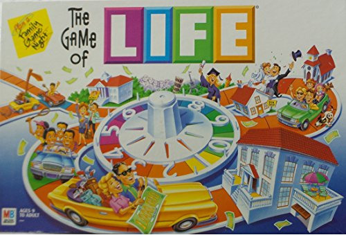 (Hasbro The Game of Life Vintage 2002)