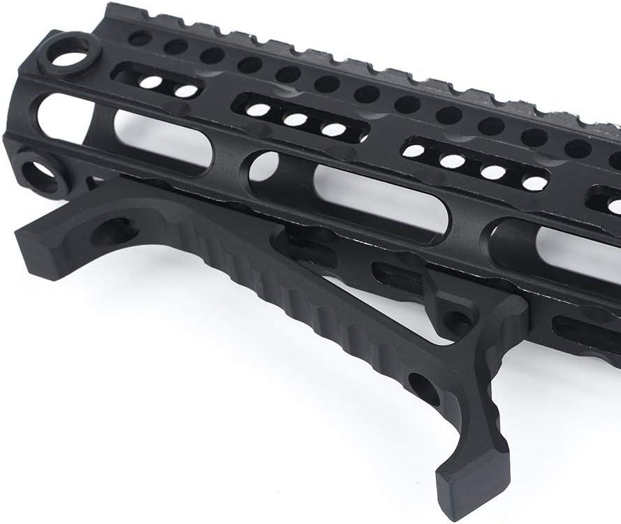WADSN VP23 Agarre de guardamanos en /ángulo t/áctico para M-LOK KEYMOD Accesorios de Pistola de Caza Aluminio Airsoft mlok keymod Parada de Mano