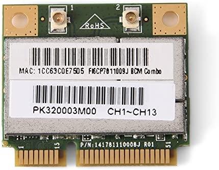 Mugast Mini Tarjeta WiFi Bluetooth Tarjeta de Red ...
