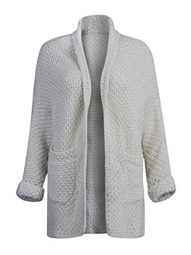 Choies Womens Pocket Cardigan Sweater