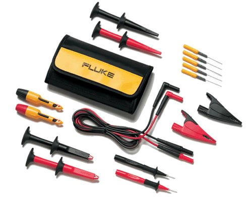 Fluke TLK282 SureGrip Deluxe Automotive Test Lead Kit ()