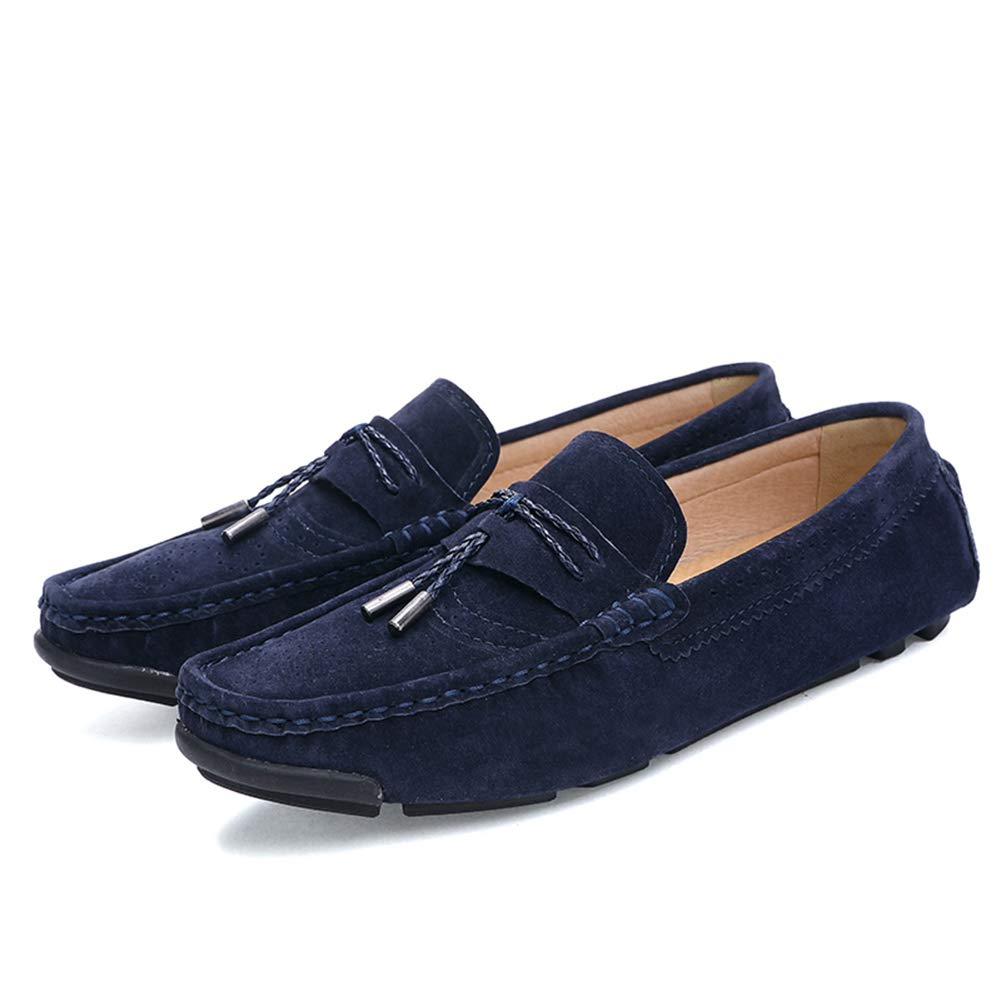 7a5fdd5e03e Amazon.com  HEmei Men s Soft Suede Driving Loafers Shoes Business Casual  Loafers   Slip-Ons