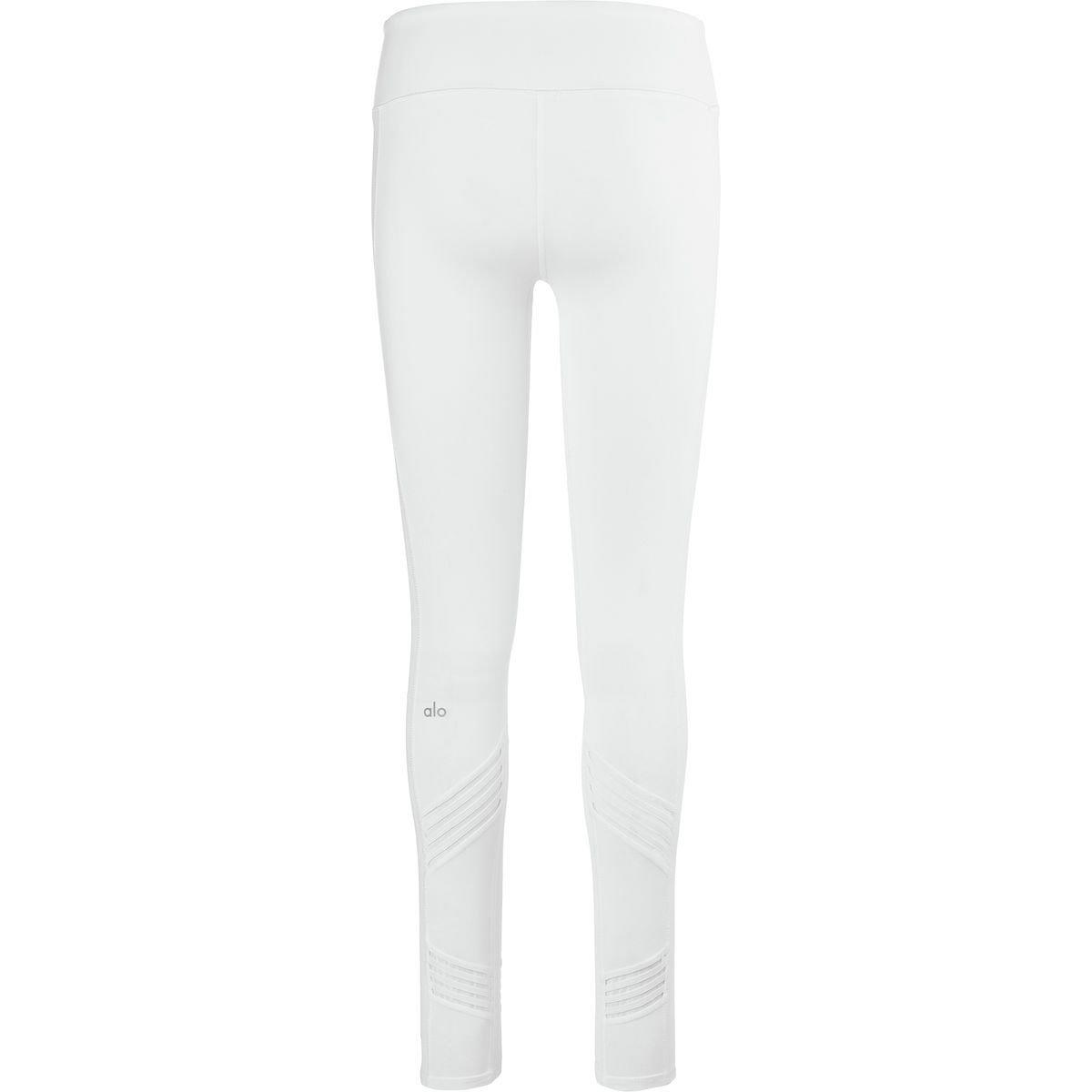 Alo Yoga Womens Multi Legging W5584R-WHT-L