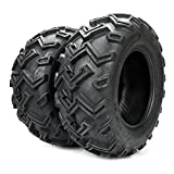 Set of 2 25x10-12 ATV Tires Rear 6PR P306B 25x10.00-12 ATV/UTV Tires