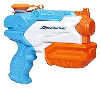 Agua Iihasbro Microburst Lanzador De A9461eu4 Super Nerf Soaker 9ED2WHI