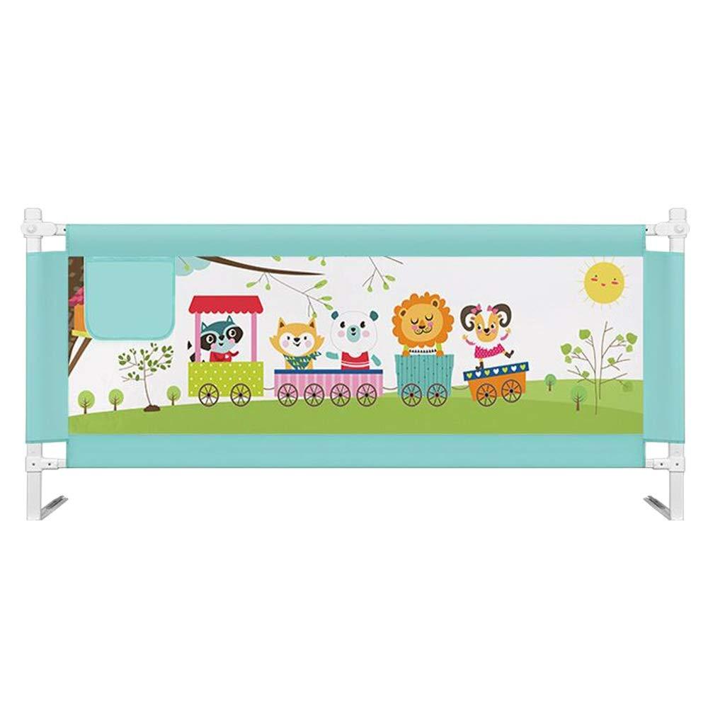 GXYAWPJ ベッドの柵 - 網のトラックを折るベッドのガードレールの子供の安全子供、緑 (色 : 緑, サイズ さいず : 2m) 2m 緑 B07S1WFGKL