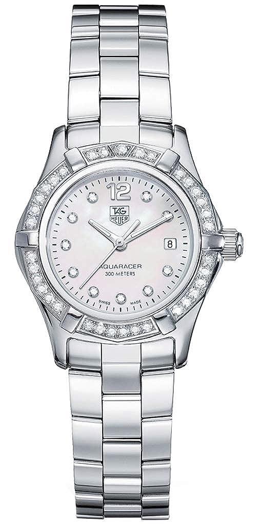 TAG Heuer Women s WAF1416.BA0813 Aquaracer Diamond Accented Quartz Watch