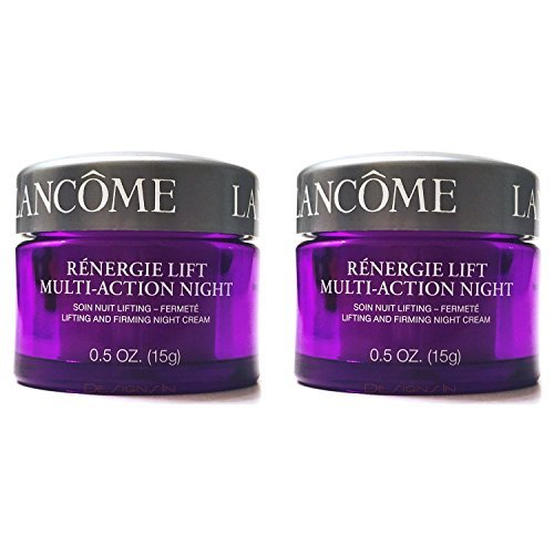 (   Renergie Lift Multi-Action Night Lifting and Firming Night Cream for All Skin Types, 2 Jars, 0.5 oz. Each)