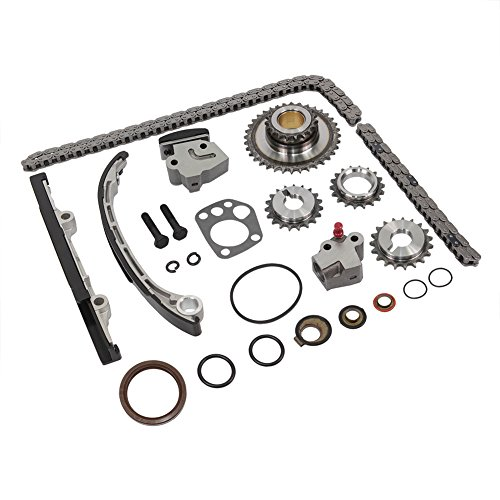 Engine Timing Chain kit set Replaces TK3022 For Nissan Altima Xterra Frontier 98 99 00 01 02 03 04 (Selected) 2.4L DOICOO