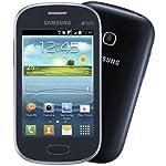 Samsung Galaxy Fame 3G Smartphone Unlocked Metallic Blue QuadBand Dual Sim CellPhone HSDPA 900/2100