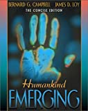 Humankind Emerging, The Concise Edition 1st Edition