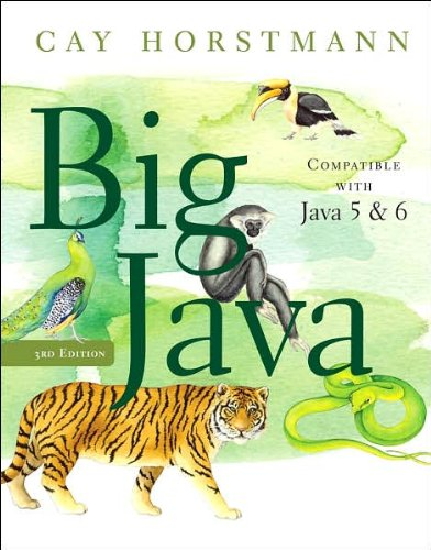 Read Online Big Java (text only) 3rd (Third) edition by C.S.Horstmann PDF