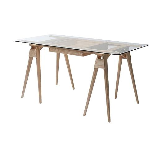 Arco escritorio, roble, estándar: Amazon.es: Hogar