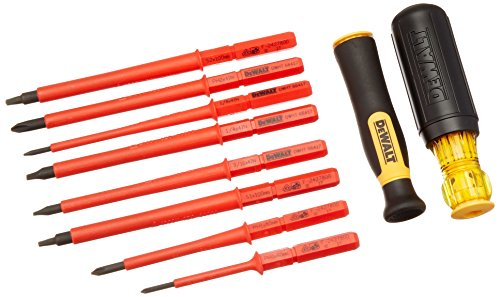 Dewalt DWHT66417 VINYL GRIP INSULATED SCREWDRIVER SET - 10 -