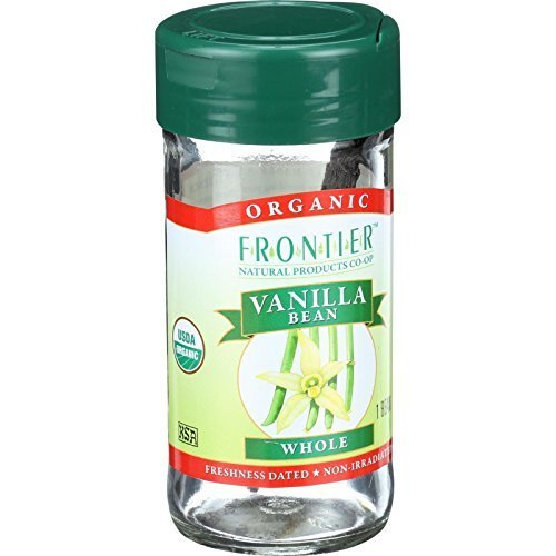 Frontier Natural Products - Vanilla Bean Whole Organic - 1 Bean(s) ( Multi-Pack)