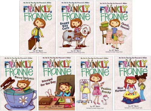 Frankly Frannie 1-7 Collection Series Set (Frankly Frannie, Doggy Day Care, Check Please!, Funny Business, Principal for the Day, Fashion Frenzy, Miss Fortune)