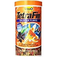 TetraFin Goldfish Flakes, Balanced Diet Fish Food