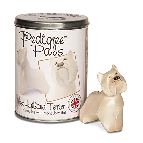 Pavilion Gift Company 46011 Pedigree Pals Figurine, 4-Inch, Westie