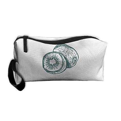 Portable Make-up Receive Bag Fruit Travel&home Storage Bag Zipper Organization Space Saver Canvas Buggy Pouch