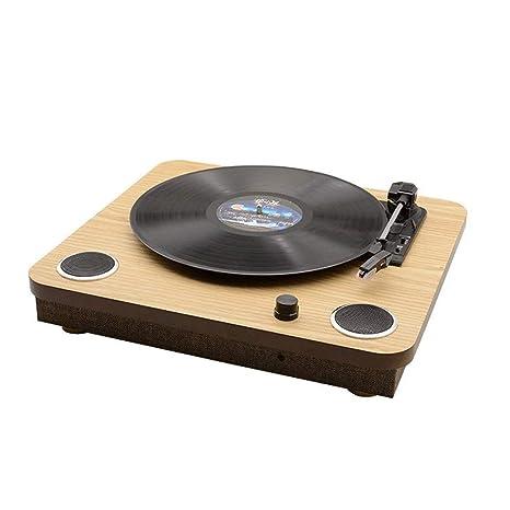 Zyy Tocadiscos Bluetooth Reproductor de Correa Tocadiscos de ...