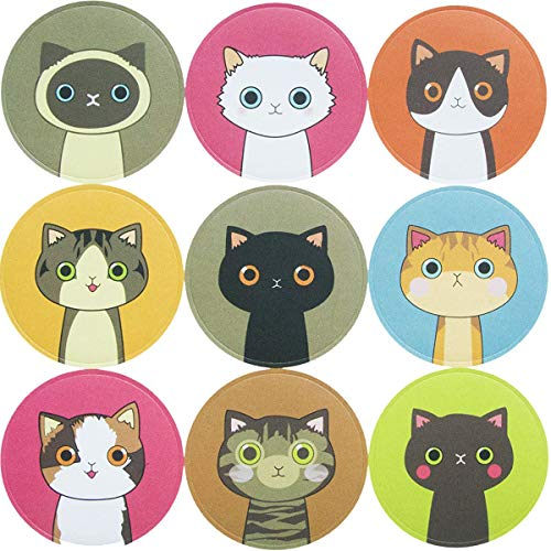(90 Lovely Kitty Cat Stickers for School Office Party Home Holiday Decoration 10)