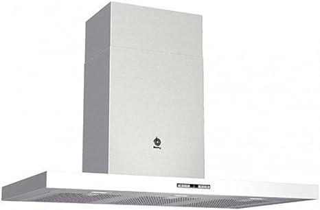 Balay 3BC897BC - Campana de acero inoxidable, color blanco: 379.49: Amazon.es: Grandes electrodomésticos