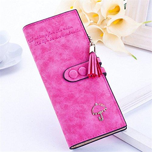 Money coming shop 2016 Female Women Long Wallet Zipper Vintage Wallets Tassel PU Leather Handbag Clutch Card Holder High Quality Free (How To Make Edible Fake Blood)