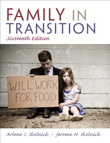 Family in Transition 16th Edition