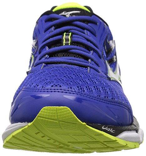 Pictures of Mizuno Men's Wave Inspire 12 Running Surf the Web/Silver 6