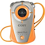 COBY CX-71 ORG Mini AM/FM Pocket Radio with Hand Strap (Discontinued by Manufacturer)