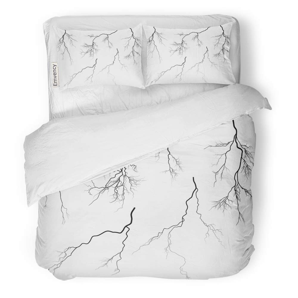 Amazon.com: Emvency 3 Piece Duvet Cover Set Brushed ...