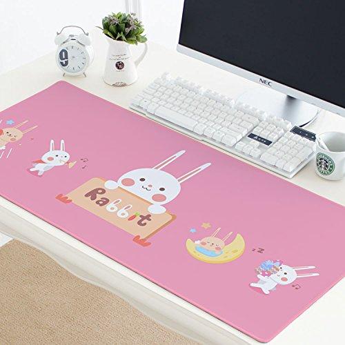@A Office Mauspads Gaming Mauspads Super nette Büro-Notizbuch-Mausunterlage-Mat-starke Naht wasserdicht, Bär 7.400X900Mmx3Mm